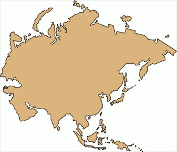 Free Continents Clipart