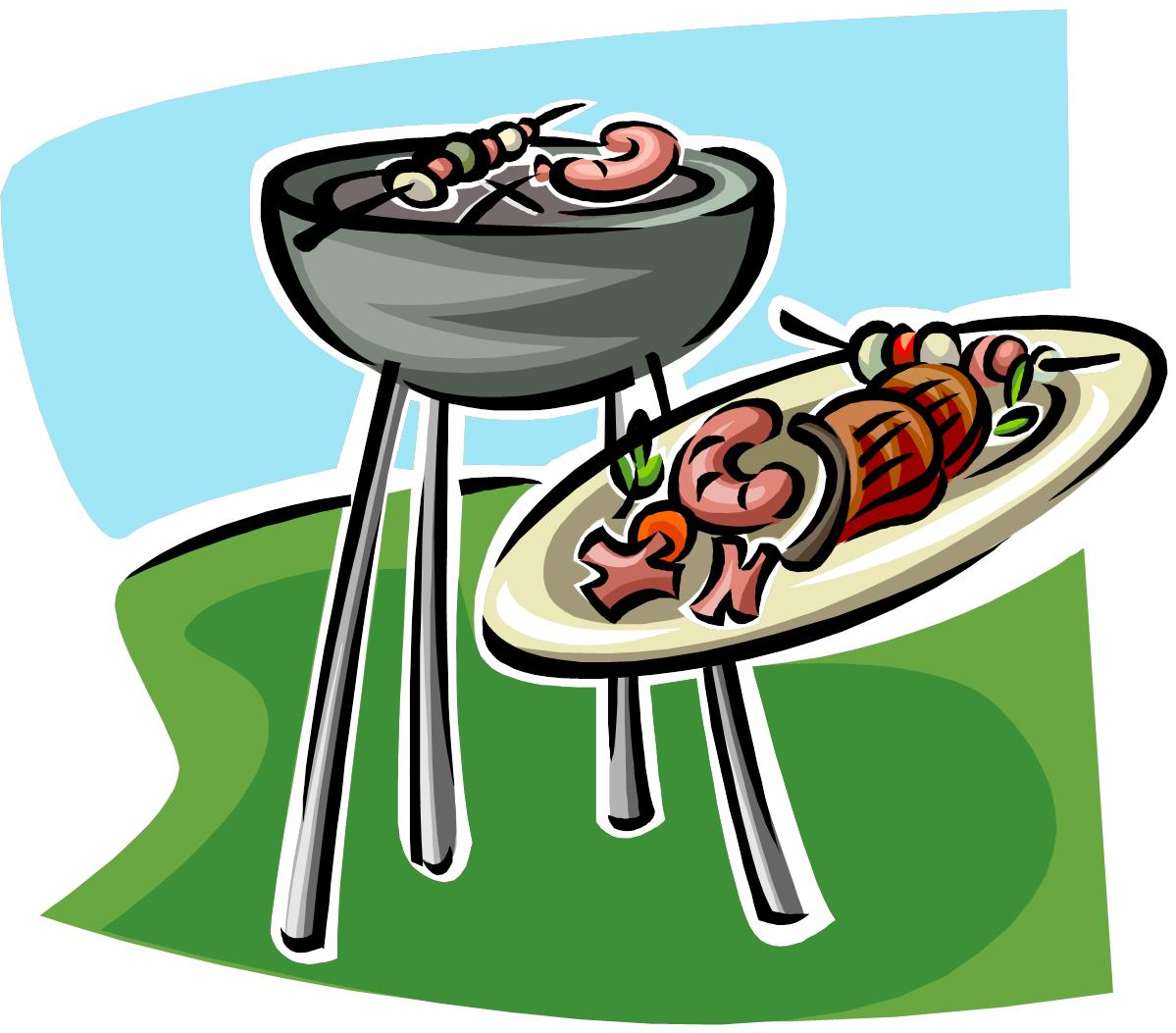 Free cookout clipart images clipartall