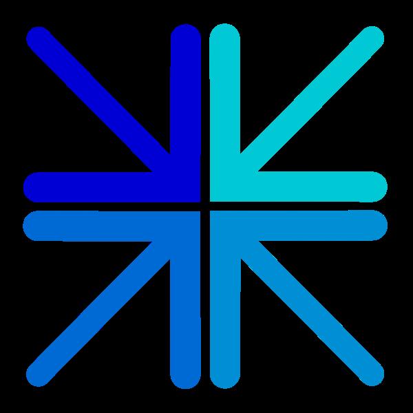 Free Culture Logo Entry Blue  - Logo Clip Art