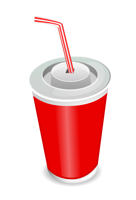 Free Cup of Soda Clip Art