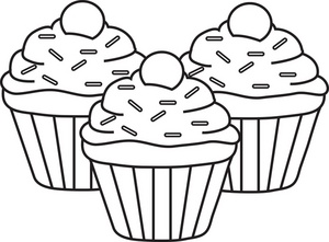 Free Cupcake Clipart Free Clip Art Image-Free Cupcake Clipart Free Clip Art Images u0026middot; « More Cupcake Clipart Black And White-9