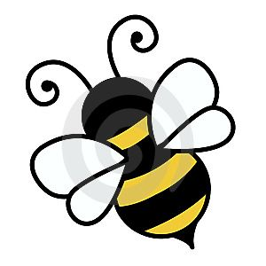 Free Cute Bee Clip Art | An illustration of a cute bee « Free Stock Photos