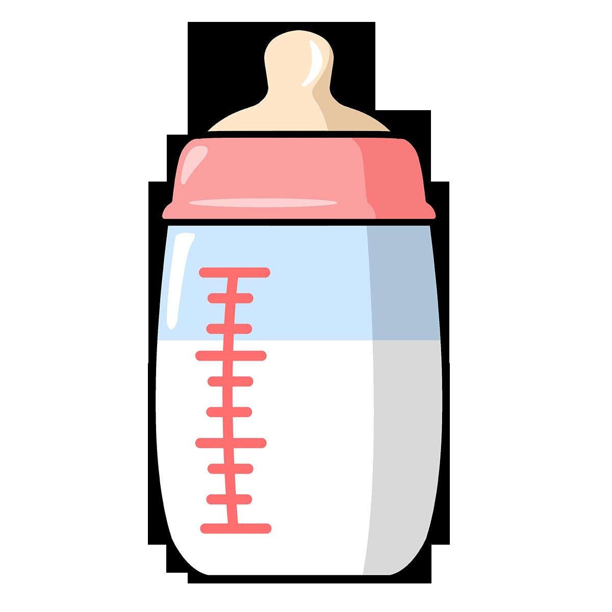 Free Cute Cartoon Baby Bottle Clip Art