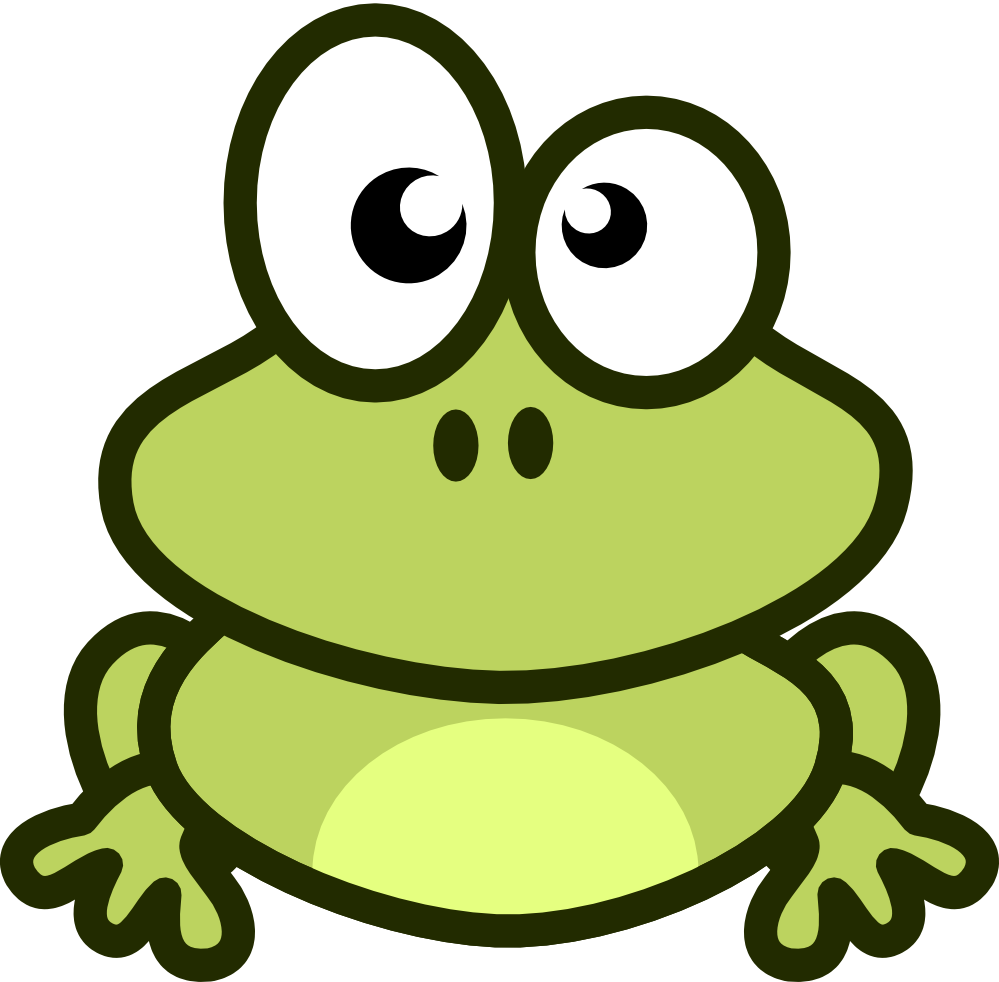 Free Cute Cartoon Frog Clip Art