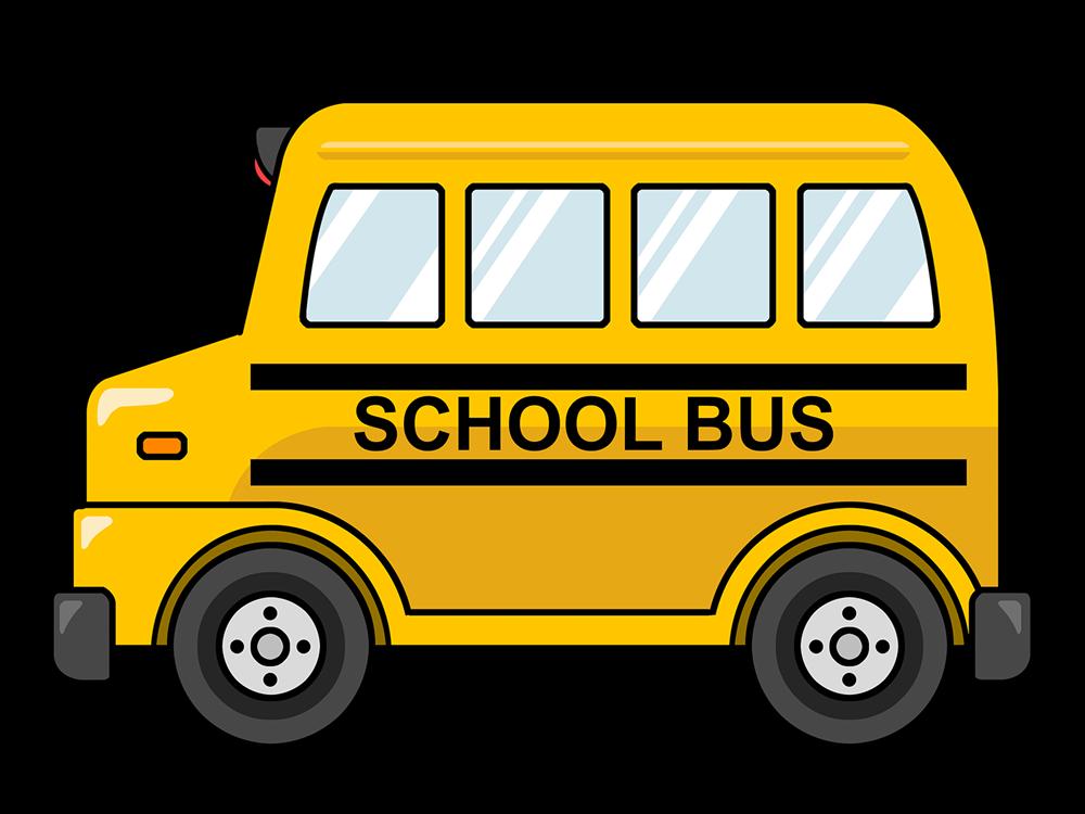 Free Cute Cartoon School Bus Clip Art