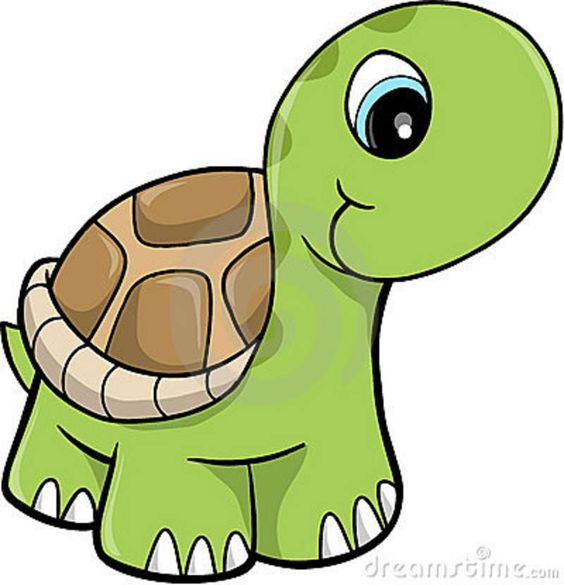 Free Cute Clip Art | Cute Safari Turtle Vector Illustration Royalty Free Stock Photos .