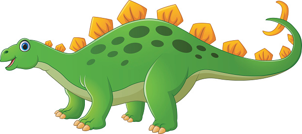 Free Cute Dinosaur Clipart . cute stegosaurus cartoon .