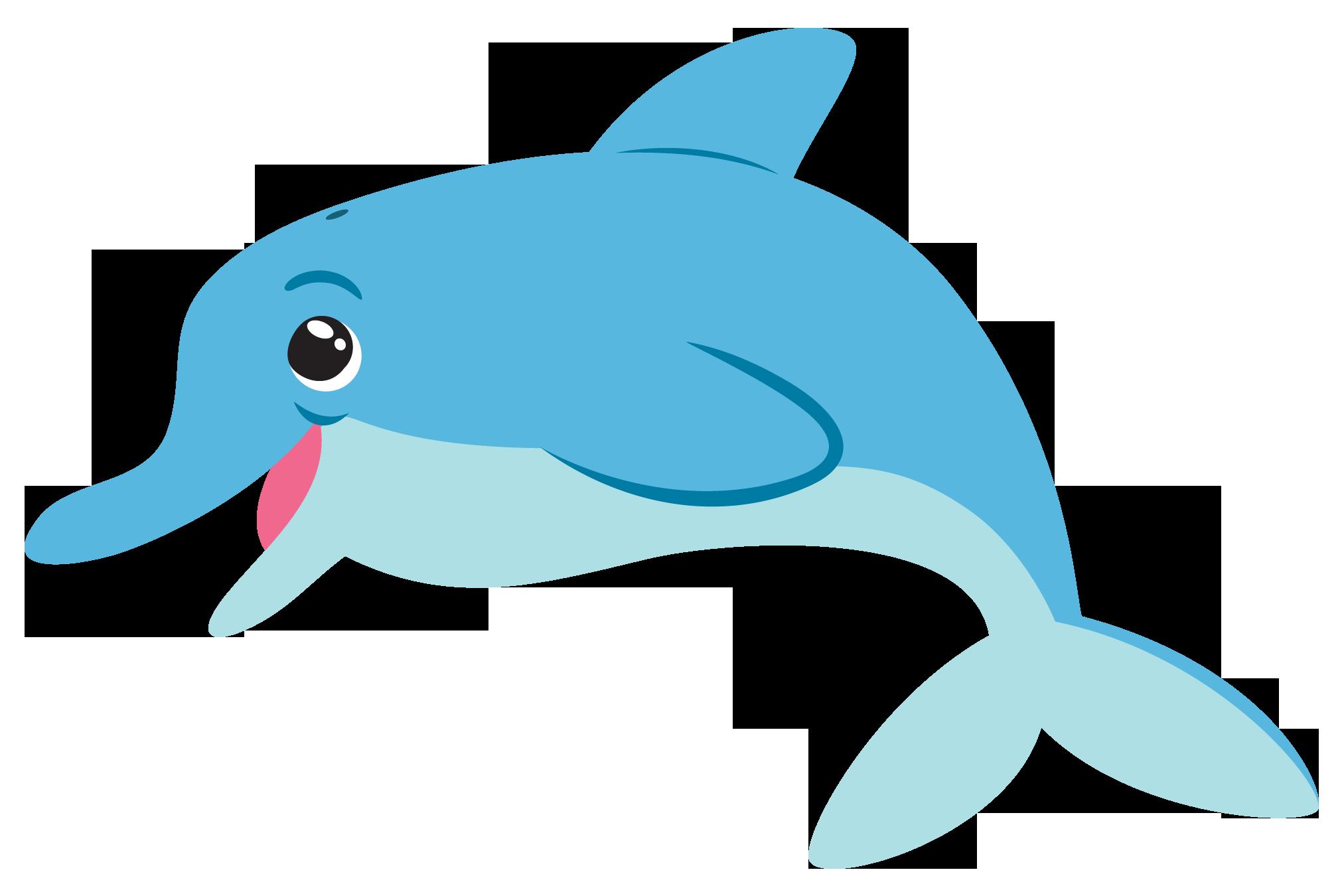 Free Cute Dolphin Clip Art-Free Cute Dolphin Clip Art-17
