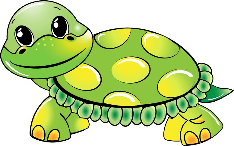 Free Cute Green Turtle Clip Art u0026middot; turtle19