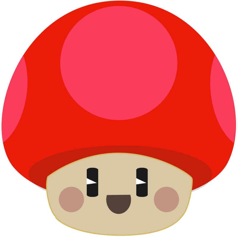 Free Cute Happy Cartoon Mushroom Clip Ar-Free Cute Happy Cartoon Mushroom Clip Art-17