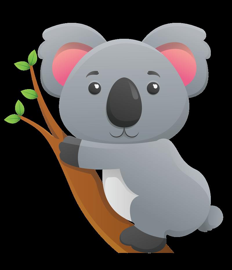Free Cute Koala Clip Art u0026middot; koala7