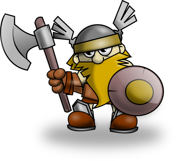 Free Cute Little Viking Clip Art-Free Cute Little Viking Clip Art-1