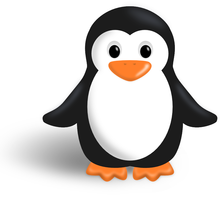 Free Cute Penguin Clip Art