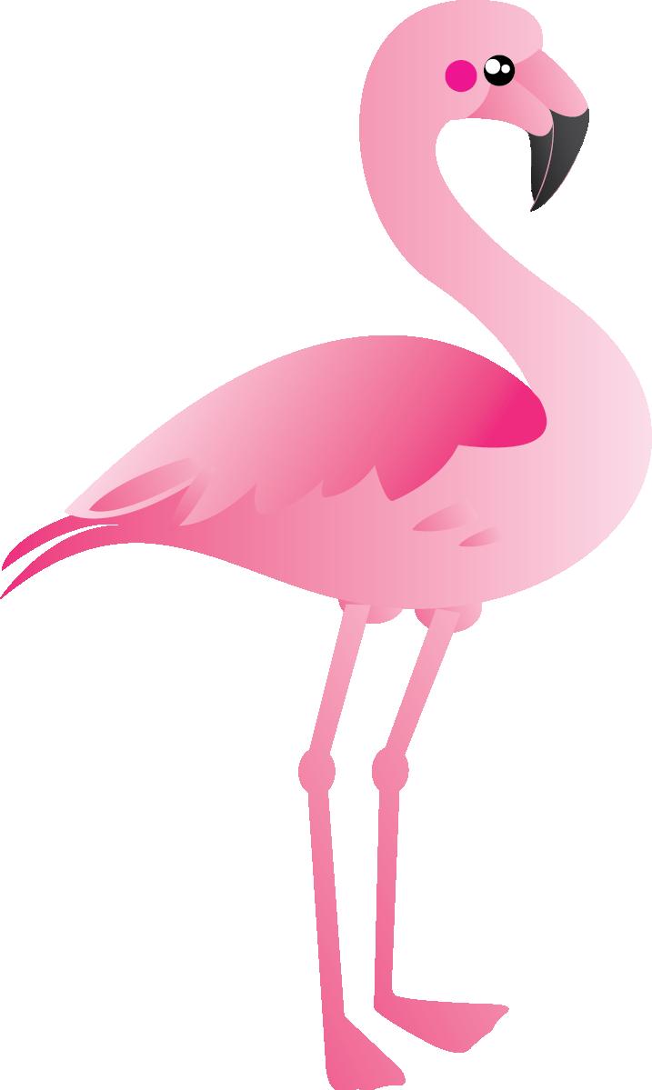 Free Cute Pink Flamingo Clip Art · flamingo11