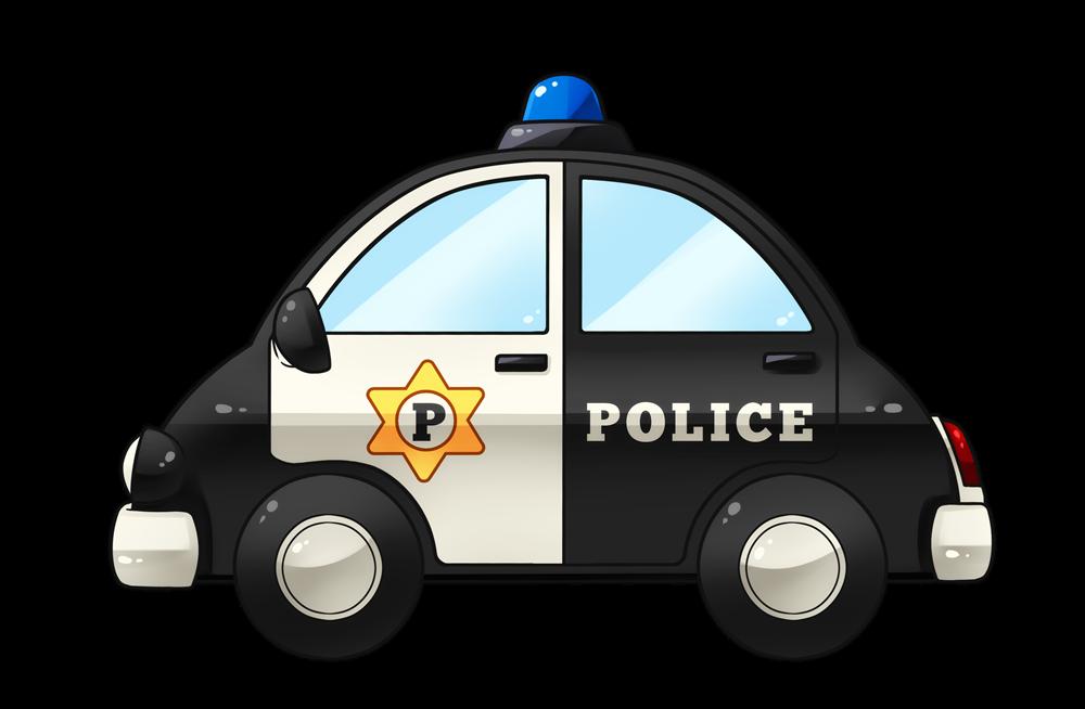 Free Cute Police Car Clip Art