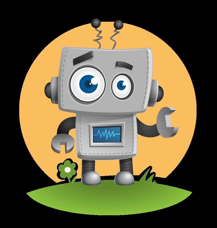 Free Cute Robot Clip Art u0026middot; robot66