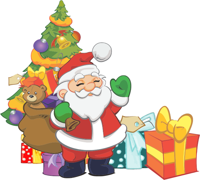 Free Cute Santa Claus Clip Art-Free Cute Santa Claus Clip Art-4