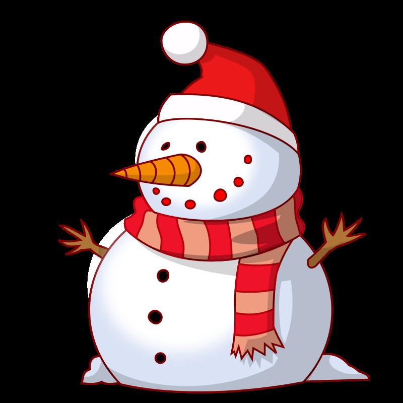 Free Cute Snowman Clip Art-Free Cute Snowman Clip Art-4