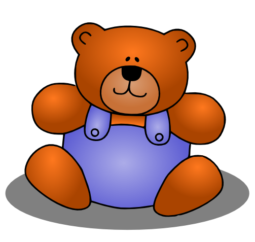 Free Cute Teddy Bear Clip Art