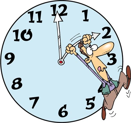 Free Daylight Savings Time Ends Clip Art 2014