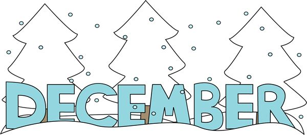 Free december clipart image
