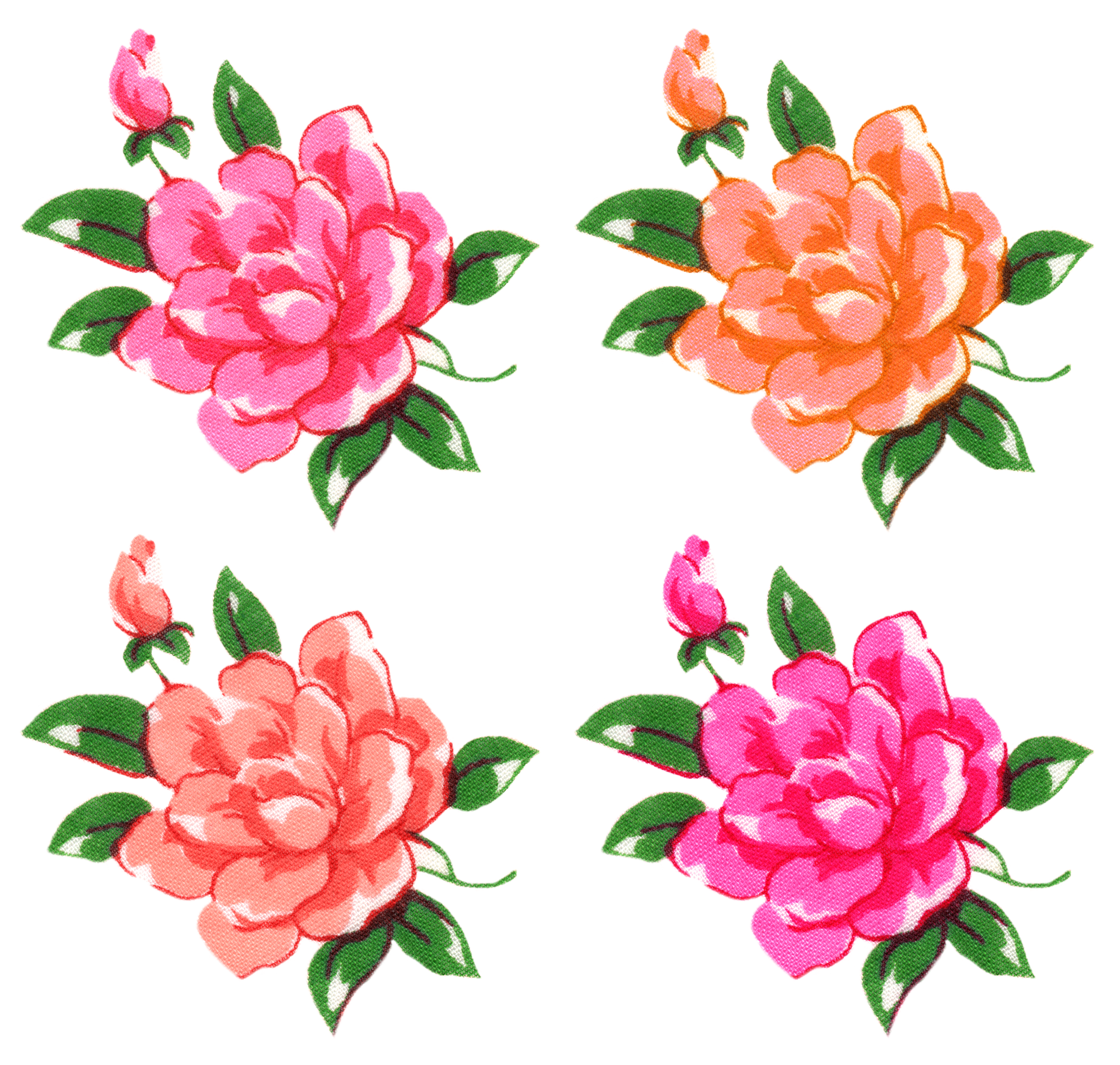 ... Free-Digital-Vintage-Flow - Vintage Flower Clip Art