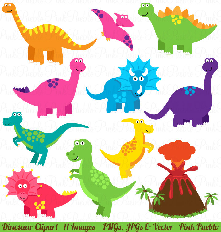 Free dinosaur clipart the .