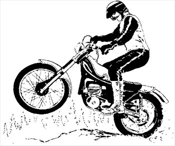 Free dirtbike Clipart - Free Clipart Graphics, Images and Photos .