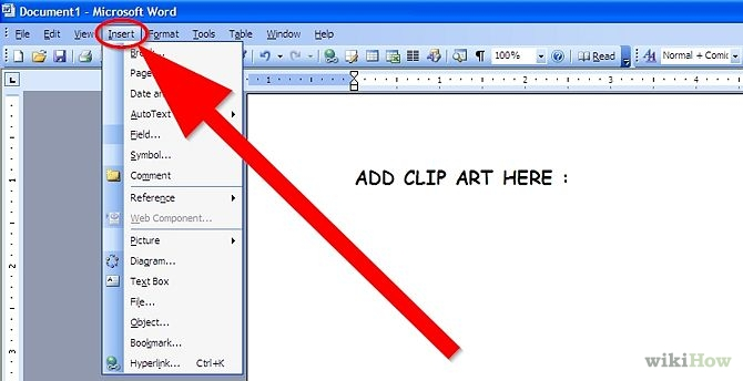 Free Download Microsoft Word Clipart #1