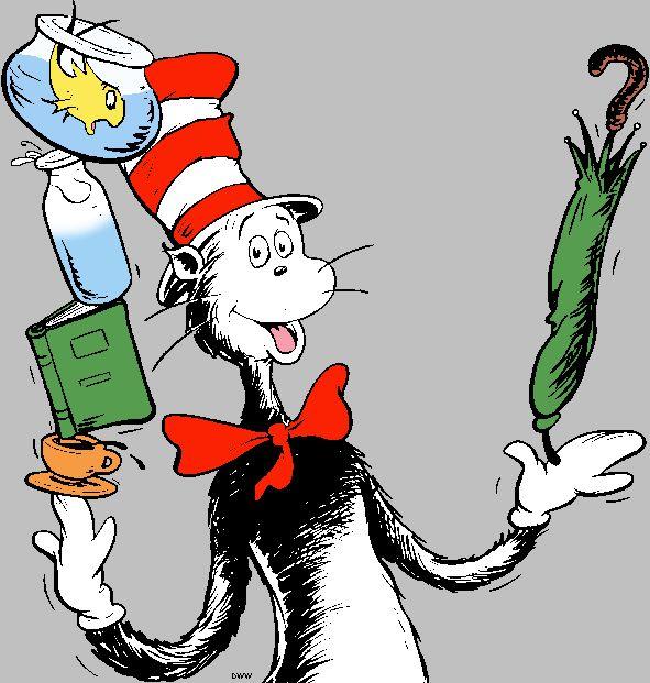 free dr seuss clip art | Dr. Seuss We Love You ppt