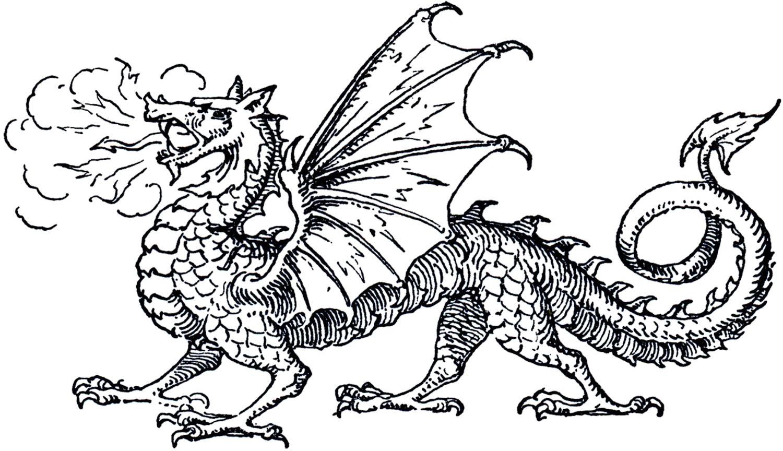 Free Dragon Clip Art