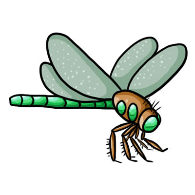 Free Dragonfly Clip Art 24