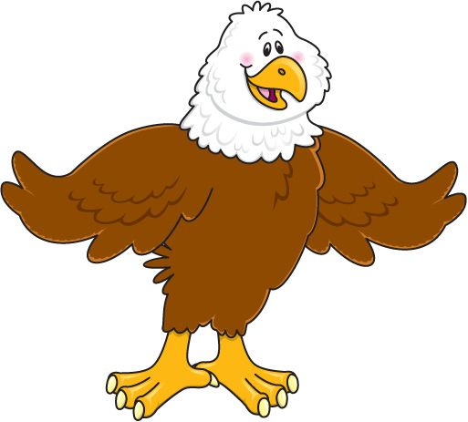free eagle clip art images | ... /Carson Dellosa Letters and Numbers/
