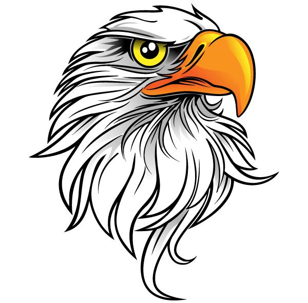 Free Eagle Head Clip Art ..-Free Eagle Head Clip Art ..-17