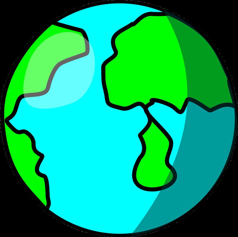 Free Earth Clip Art - Clip Art Of Earth