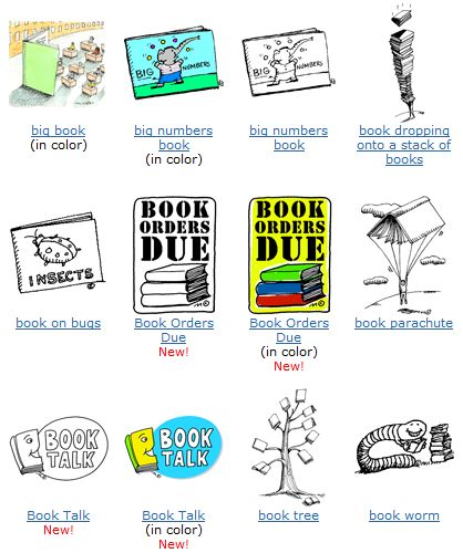Free Educational Clip Art for Teaching Materials