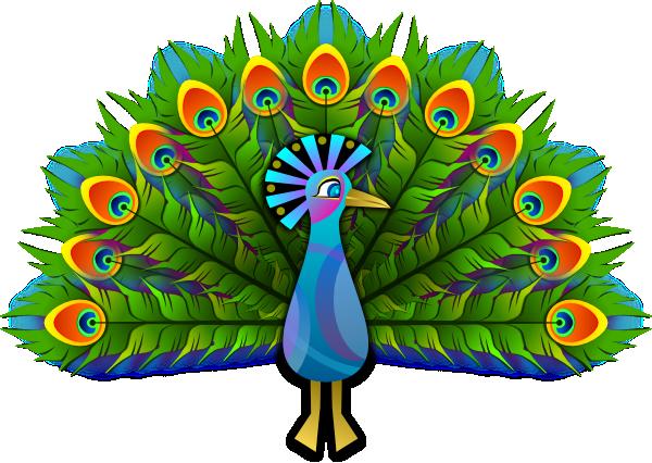 Free Elegant Peacock Clip Art-Free Elegant Peacock Clip Art-5