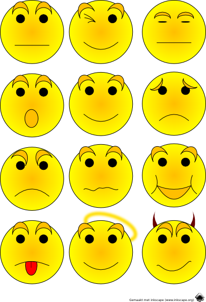 Free Emotions Clipart