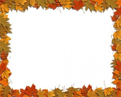Free Fall Border Templates | Fall Leaves Border Clip Art | Classroom Ideas | Pinterest | Clip art, Photos and Art