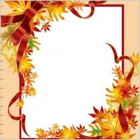 Free Fall Clip Art   Free fall clip art border Free vector for free download (