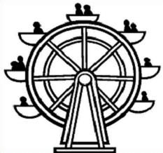 Free Ferris Wheel Clipart