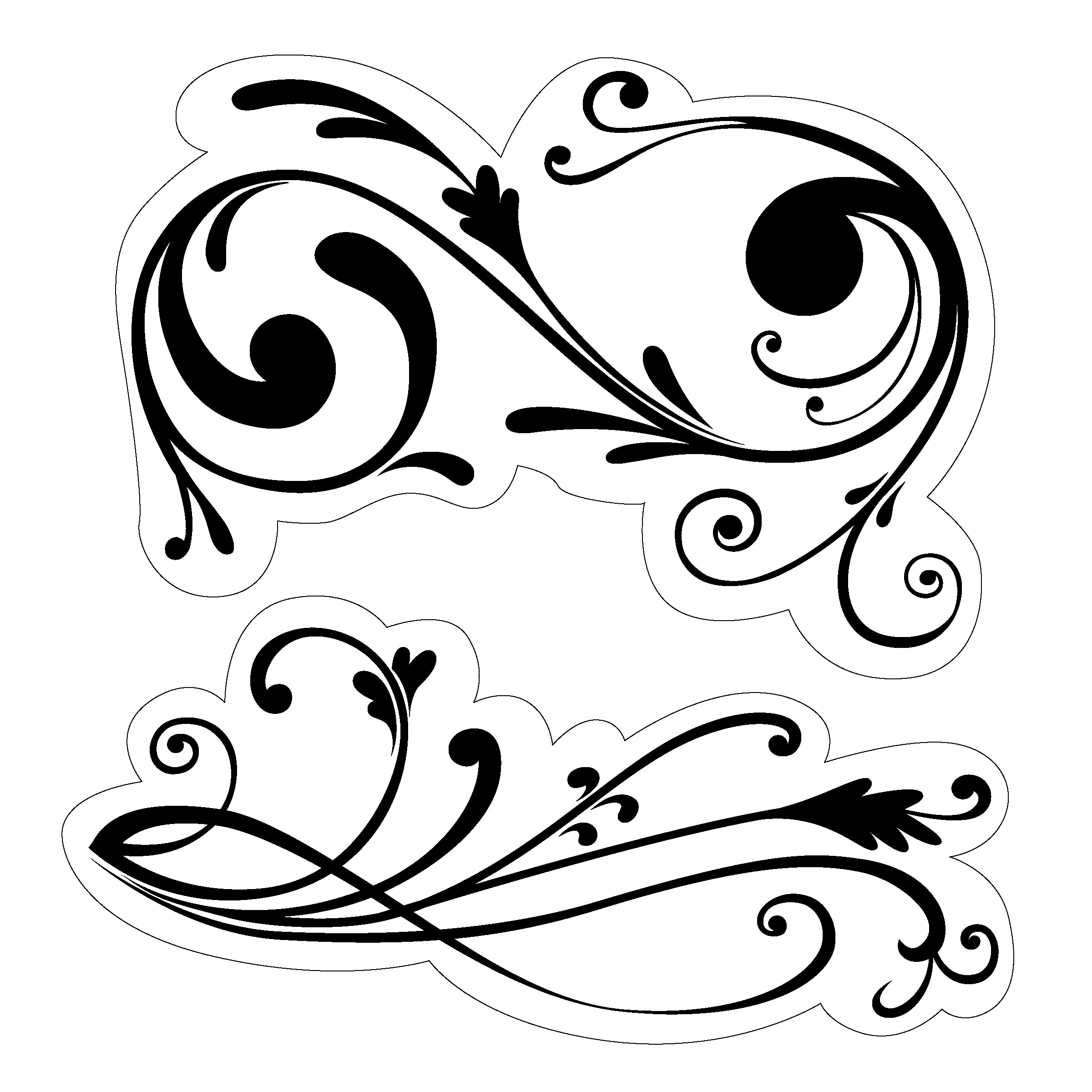 Free Filigree Clip Art-Free Filigree Clip Art-12