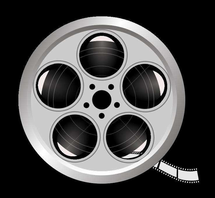 Free Film Reel 2 Clip Art-Free Film Reel 2 Clip Art-4