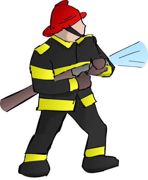 Free firefighter clip art dow - Firefighter Clipart Free