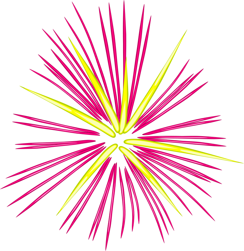 Free Fireworks 2 Clip Art - Fireworks Pictures Free Clipart