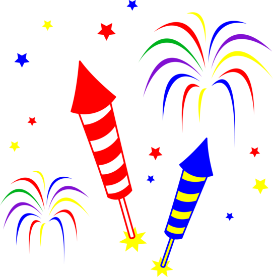 Free Fireworks Clip Art