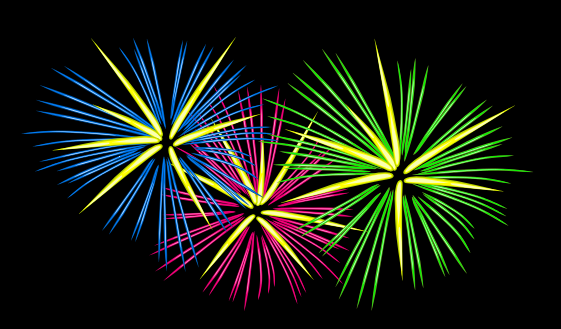 Free Fireworks Clipart. Free Clipart Images, Graphics, Animated