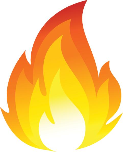 Free flame clipart clipartfox