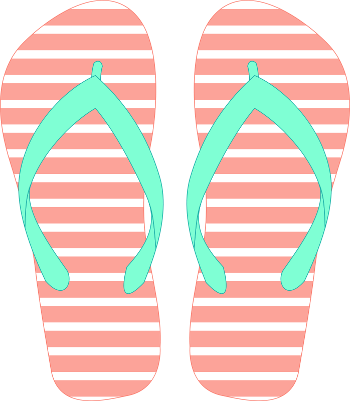 Free Flip Flops Clip Art