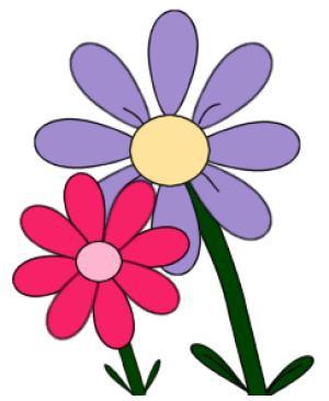 free flower clip art .